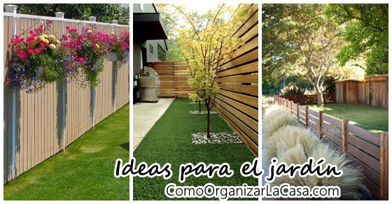 Ideas de cercas para tu jard n decoracion de interiores for Ideas para tu jardin en casa