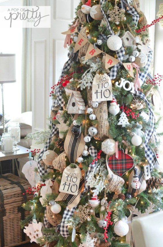 Ideas de decoración de árbol de navidad 2018 - 2019
