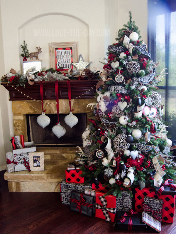 Ideas de decoración de árbol de Navidad