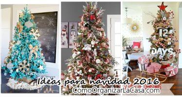Ideas de decoración de arbol de navidad 2016 – 2017