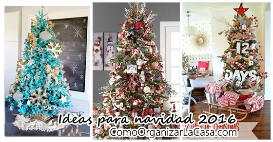 Ideas de decoraci n de arbol de navidad 2017 2018 for Decoracion arbol navidad 2017