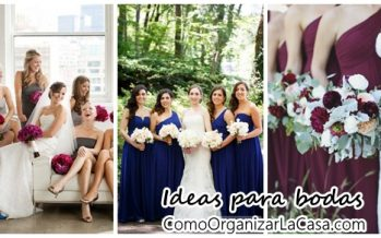 Ideas para bodas- fotos con las damas