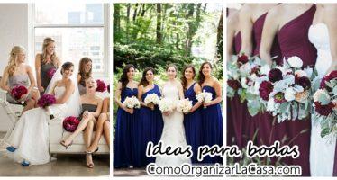 Ideas para bodas- fotos con las damas