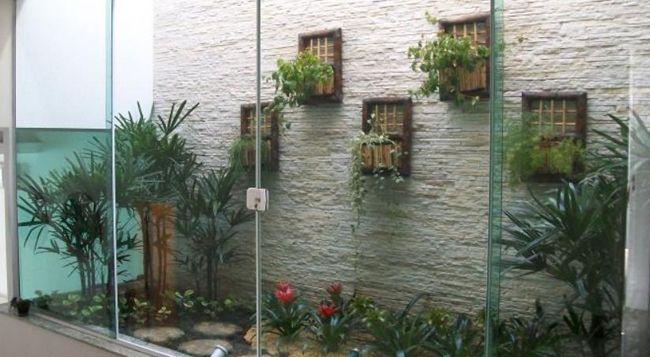 Increibles propuestas de jardines interiores