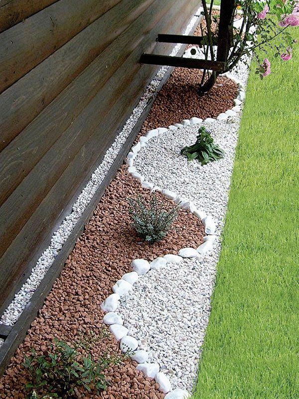 Jardines frontales con flores 11 decoracion de for Decoracion de jardines con piedras y madera