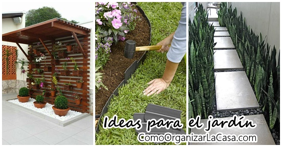 Lindas ideas para intentar en tu jard n decoracion de for Ideas para tu jardin en casa