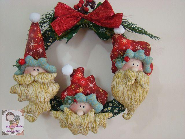 Moldes Y Manualidades De Navidad En Fieltro 10