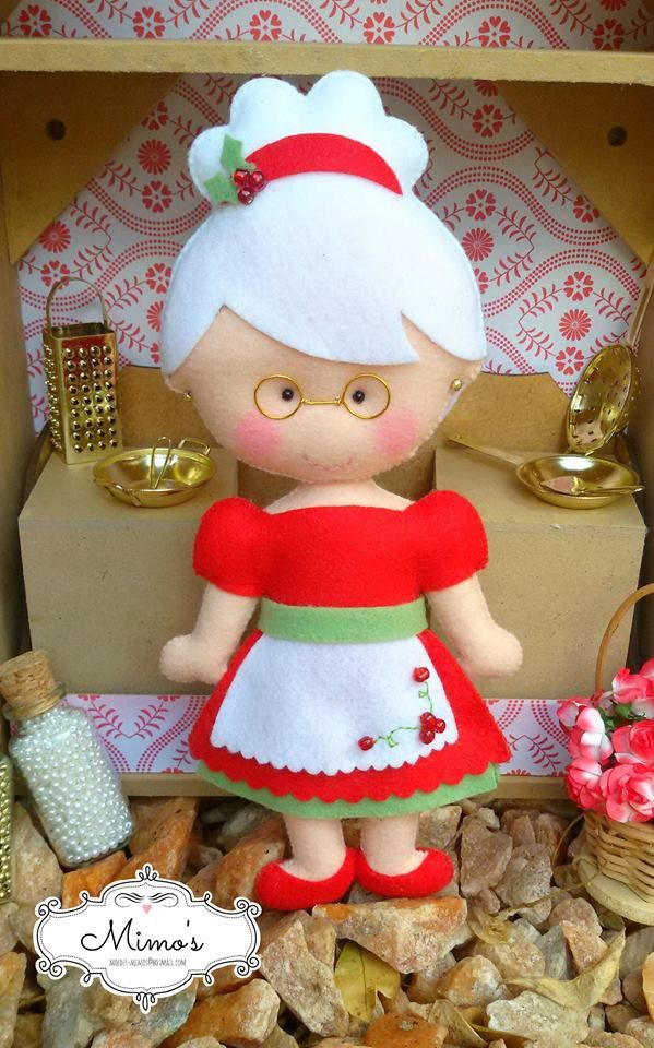 Moldes y manualidades de navidad en fieltro 31 decoracion de interiores fachadas para casas - Manualidades en fieltro para navidad ...