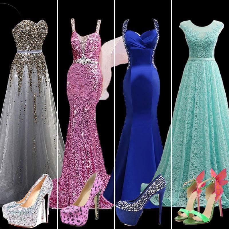 Opciones De Vestidos Elegantes Para Fiestas De Noche 17