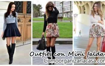 Outfits con mini faldas