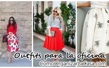 Outfits de faldas para llevar a la oficina y lucir espectacular
