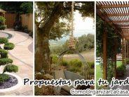 Proyectos para tu jardín que debes intentar