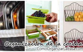 Tips de organización para la cocina