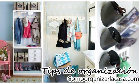 Tips para organizar el recibidor de tu casa