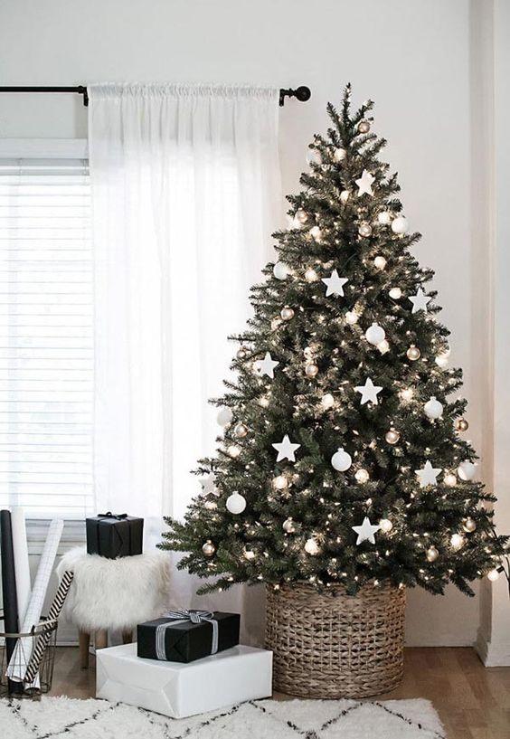 Bases rústicas para arboles de navidad