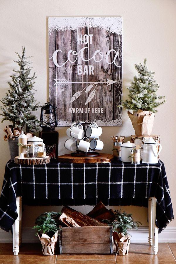 Ideas para decorar la entrada en navidad