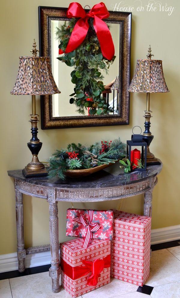 Decora tu casa para la noche de navidad 55 decoracion de for Decora tu casa