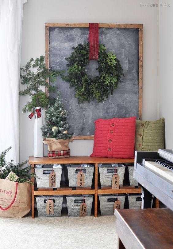 Decoraci n navide a estilo campestre country christmas for Decoraciones navidenas para la casa