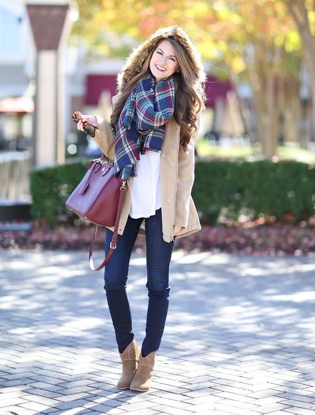 Descubre como llevar pashminas o bufandas con mucho estilo
