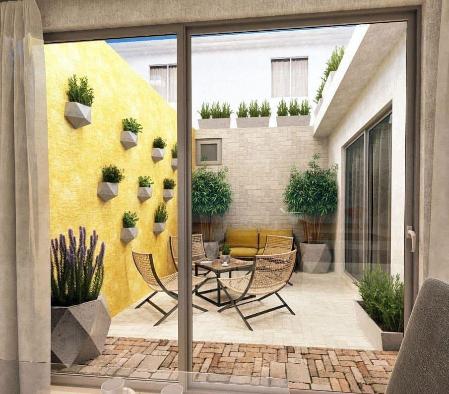 jardines interiores para casas pequeñas