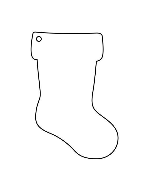 Moldes de botas navideñas en fieltro gratis