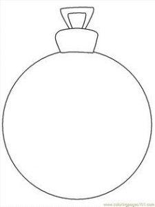 Moldes de navidad en fieltro para esferas
