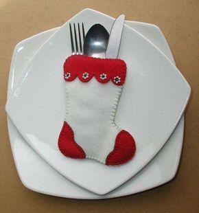 Moldes para hacer botas navideñas