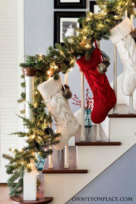 Opciones DIY de botas navideñas
