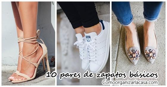 10 pares de zapatos que toda mujer debe tener
