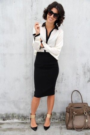 Outfits con ropa empresarial