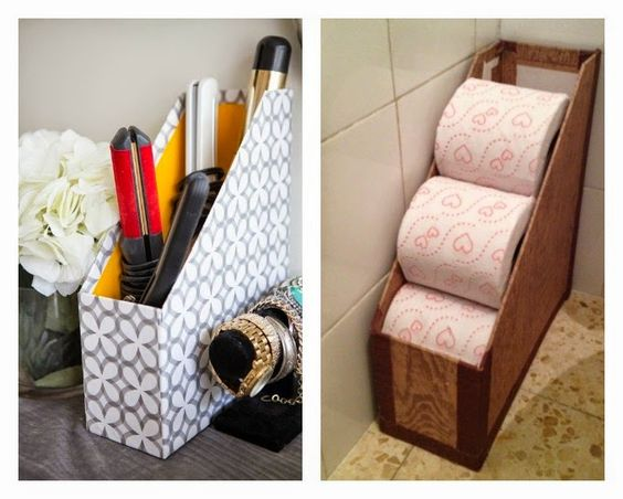 25 ideas para organizar un ba o 10 decoracion de - Ideas para organizar papeles en casa ...