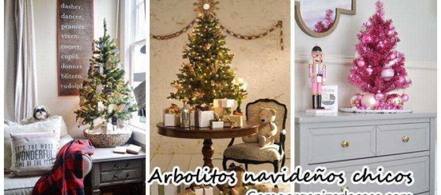 Arbolitos navideños chicos una propuesta hermosa y original