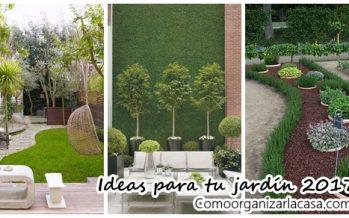 Decora tu jardín este 2017 con nuestras ideas