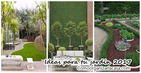 Decora tu jard n este 2017 con nuestras ideas decoracion for Decora tu jardin
