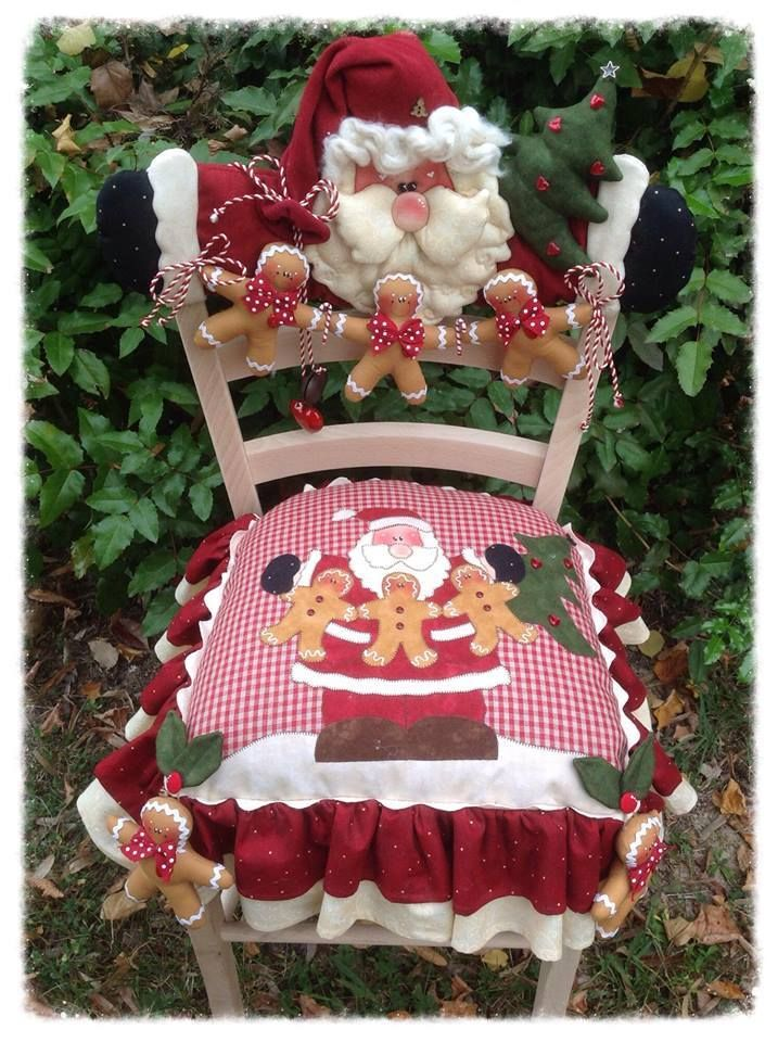 Decoracion navidena 2016 para tus sillas del comedor 17 for Sillas de comedor 2016