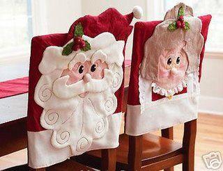Decoracion navidena 2016 para tus sillas del comedor 31 for Decoracion 31 de diciembre