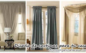 Diseños de cortinas que realzan la belleza del hogar
