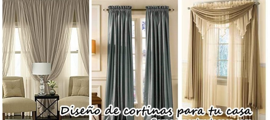 Dise os de cortinas que realzan la belleza del hogar curso de organizacion de hogar aprenda a - Disenos de cortinas de tela ...