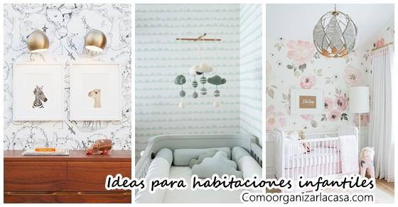 Habitaciones infantiles decoradas con papel tapiz - Habitaciones con papel ...