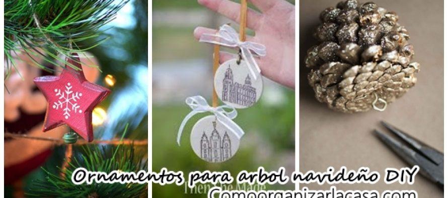 Haz tus propios ornamentos para el pino navideño