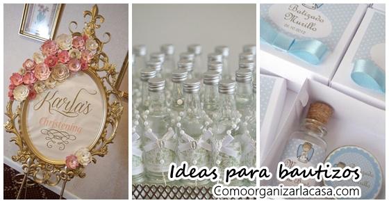 Ideas para bautizos de ni o o ni a como organizar la - Ideas para decorar zapatos de nina ...