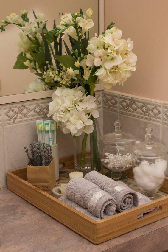ideas para decorar tu baño de visitas | curso de organizacion de ... - Decoracion Bano De Visitas Pequeno