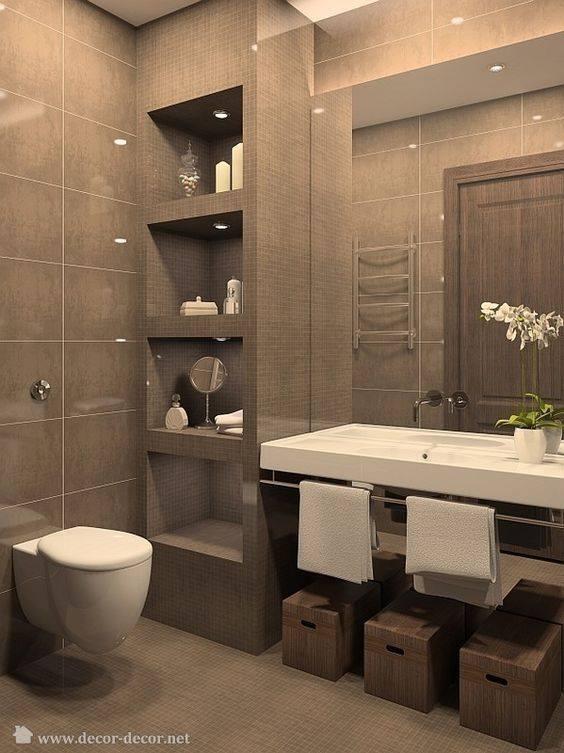 Ideas para decorar tu ba o de visitas 26 decoracion de for Ideas para decorar interiores de casas