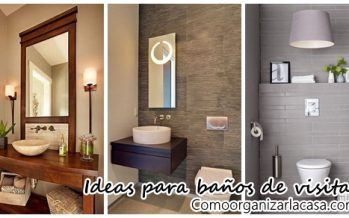 Ideas para decorar tu baño de visitas