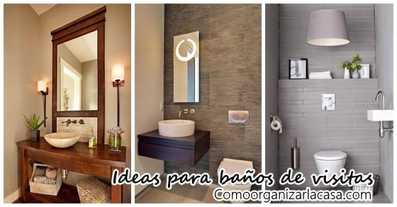 Ideas Para Decorar Baños | Ideas Para Decorar Tu Bano De Visitas