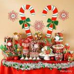 Ideas para montar una mesa de postres en navidad (1)