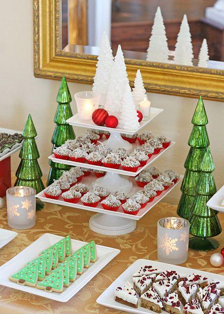 Ideas para montar una mesa de postres en navidad 12 - Ideas para postres de navidad ...