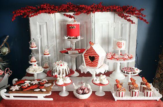 Ideas para montar una mesa de postres en navidad 17 - Ideas para postres de navidad ...