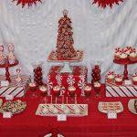 Ideas para montar una mesa de postres en navidad (9)