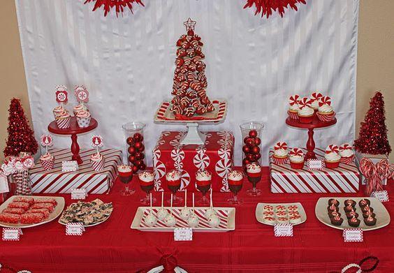 Ideas para montar una mesa de postres en navidad 9 - Ideas para postres de navidad ...